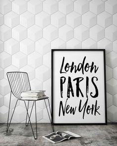 paris, london, new york theme! | room | pinterest | bedrooms, room