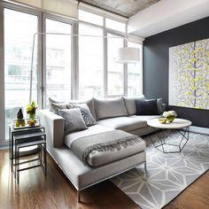 Beaches residence family room - beach-style - Living Room - Toronto - Judith Taylor Designs