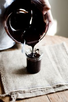 chocolate fudge sauce by TheSophisticatedGourmet