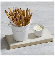 Bariatric Fries - perfect with steak on Valentine's Day from Bariatric Cookery