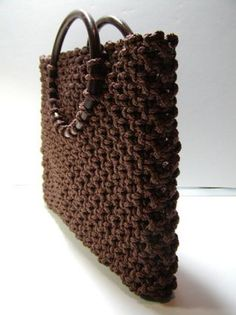 The tutorial for that great macrame tote!