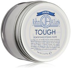 John Allan's Tough Fortifying Styling Paste, White/Clear, 2 oz. -- This is an Amazon Affiliate link. Check out the image by visiting the link.