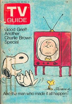 "October 28, 1972. Snoopy, Woodstock, and Charlie Brown of the CBS special ""You're Not Elected, Charlie Brown"" (illus. credited to Charles Schulz)."
