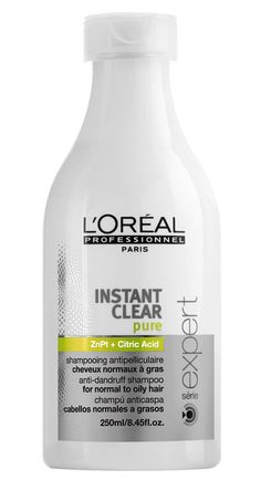 hairbodyproducts.com FREE DELIVERY BEST PRICES ONLINE L'OREAL SÉRIE EXPERT CLEANSE CONTROL INSTANT CLEAR SHAMPOO GREASY HAIR