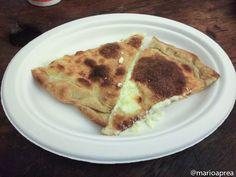 Mangiare con gusto: Necci e focacce al formaggio Dall'Anto al Rione Monti