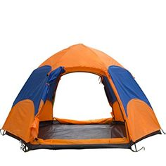 Introducing Wnnideo 34 People Hexagonal Mixed Colors Double Layer Tent. Great Product and follow us to get more updates!