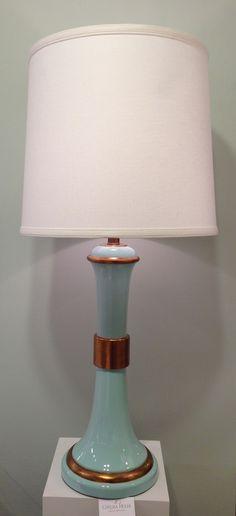 Love this lamp by Lisa Kahn-Allen for Chelsea House