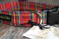 "Dog Collar ""The Tartan"""