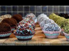 τρουφάκια σοκολάτας με 6+ άλλες επικαλύψεις cuzinagias truffles with chocolate-biscuits-walnuts - YouTube Greek Desserts, Cup Desserts, Dessert Cups, Muffin, Trifles, Breakfast, Biscuits, Facebook, Youtube