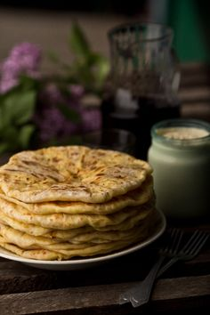 Placinta, Romanian pan bread from food  chef project