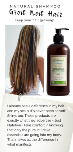 Damaged, weakened hair may benefit from the mineral and vitamin content in this shampoo so that hair is strengthened for less hair fall and a fuller look over time. Natural Hair Care, Natural Hair Styles, Hair Growth Tips, Hair Shampoo, Hair Health, Grow Hair, Fall Hair, Hair Hacks, Healthy Hair
