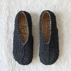 Bonanova Braided Shoe Black
