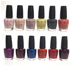 Germany OPI Collection for Fall 2012