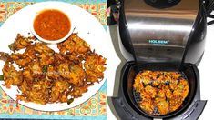 Air Fryer Pakoras Bhavna's Kitchen – Your one tasty destination for vegetarian recipes Today, I decided to use air fryer to make Pakore. These cirspy fritters are the usual demand of my family as evening snack or afternoon lunch with tea or coffee. Air Fryer Recipes Indian, Air Fryer Recipes Vegetarian, Indian Food Recipes, Healthy Recipes, Healthy Foods, Bhavna's Kitchen, Kitchen Living, Bhel Recipe, Deep Fried Recipes