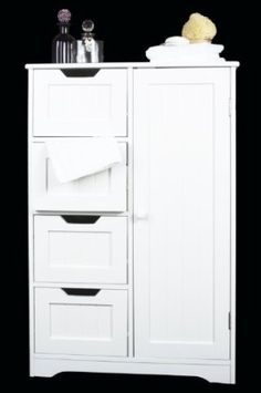 Finding Best Ideas for your Building Anything Bathroom Cabinet With Drawers, Bathroom Floor Cabinets, Wood Bathroom, Bathroom Flooring, White Bathroom, Tall Cabinet Storage, Bathroom Ideas, Cleaning Cabinets, Cabinet Dimensions