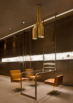 Exceptional jewellery shop design in Milan - Faraone jewellery boutique - Pursuitist