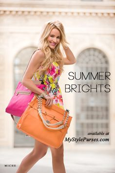 What's your favorite color summer handbag? Come see all our fabulous summer brights that will jazz up your wardrobe | MyStylePurses.com