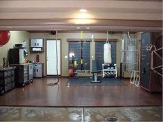 Nice Garage Gym