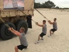 Military Fitness - TRX Suspension Strap Strength Training (3) - YouTube