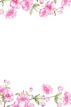 Notebook Paper Printable, Printable Paper, Vintage Flowers Wallpaper, Flower Wallpaper, Pen Pal Letters, Floral Border, Background Pictures, Writing Paper, Note Paper