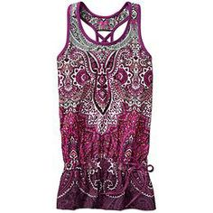 Tic Tac Toe Tank | Athleta - I like the cinched waist, no coming up over the head in inverted positions!