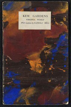 fawnvelveteen: Virginia Woolf, giardini Kew (1919) con le illustrazioni di Vanessa Bell