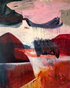 Tanja Truscott: Iceberg Melting: fine art   StateoftheART Mass Migration, Wild Fire, Big Waves, Global Warming, Ecology, Canvas Size, Original Artwork, Fine Art, Painting