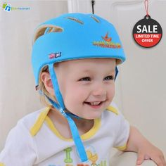 ~Limited time Offer~ STURDY AND DURABLE PROTECTIVE PLAY HELMET FOR BABY