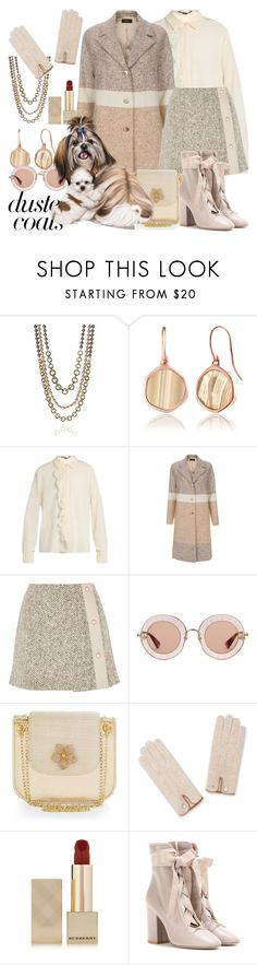 """""""Long Layers: Duster Coats"""" by ann-kelley14 ❤ liked on Polyvore featuring St. John, Monica Vinader, STELLA McCARTNEY, Paul Smith, See by Chloé, Gucci, Monsoon, Burberry, Valentino and polyvorecommunity"""