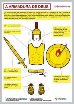 'The armor of God' from Ephesians PDF version KB) Family Worship Night, Bible Topics, Bible Mapping, Bible Knowledge, Armor Of God, Jehovah's Witnesses, Bible Lessons, New Testament, Word Of God