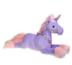 "Fiesta Toys 33"" Plush Laydown Jumbo Unicorn, Purple Fiesta Toys http://www.amazon.com/dp/B00KMYIGXM/ref=cm_sw_r_pi_dp_6awAub0A2GHFK"