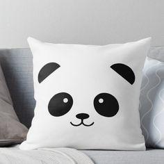 'Panda' Throw Pillow by – diy kid room decor