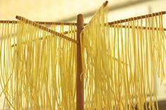 On drying and storing homemade pasta