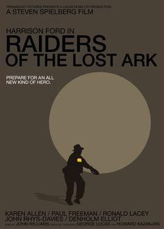 Raiders of the Lost Ark by Vasco Valentim  ~1eyeJACK~