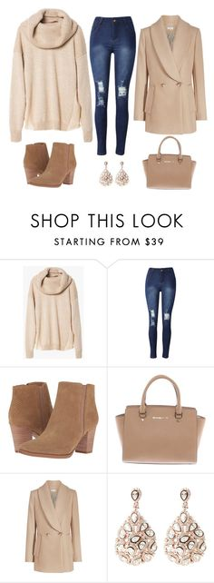 """Bez tytułu #730"" by dodka529 on Polyvore featuring moda, Franco Sarto, Michael Kors i Latelita"