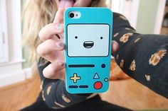 cute iphone case. ♡ does anyone remember this guys name from adventure time?