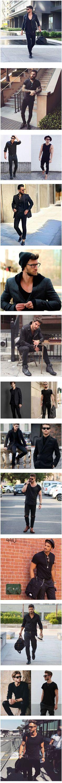 17 looks de inspiração para adotar o estilo all black - 17 LOOKS DE INSPIRAÇÃO PARA ADOTAR O ESTILO ALL BLACK