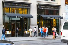 Eataly, NYC. Still dreaming about the fish soup.
