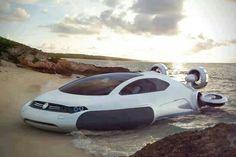 Volkswagen aqua hovercraft.