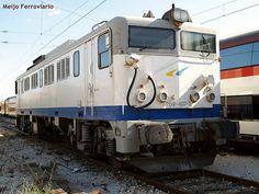 Locomotora 269.400 GL en Fuencarral
