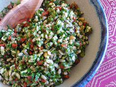 about Bulgur, Farro, frekeh and wheet on Pinterest | Farro salad ...