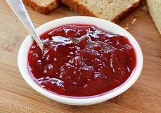 Small Batch Plum Jam - no pectin and lower sugar