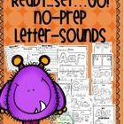 No Prep Time?... No Problem! Your students will get lots and lots of practice using beginning and reviewing or being introduced to end sounds.  Her...