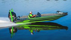 For the best all around family fun and tournament bass boat today. Bass Fishing Boats, Bass Boat, Flat Bottom Boats, Cool Boats, Life Crisis, Outdoor Brands, Bowfishing, Fishing Stuff