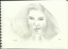 Woman Face Study n95 by lv888.deviantart.com on @DeviantArt