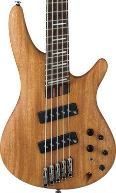Ibanez SRFF4505SOL Workshop Series 5-String Bass Guitar