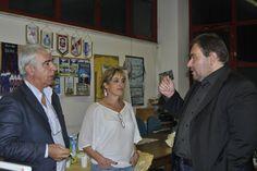 Andrea Burlandi con la Presidenza