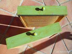 reuse crates drawers, bathroom ideas, chalkboard paint, organizing, painting, repurposing upcycling, storage ideas