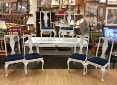 DEAL HUNTERS UNITE & SAVE BIG AT NEW USES: We are so overloaded with merchandise that this Fabulous Table & 6 Chair Set is just $225 for all!