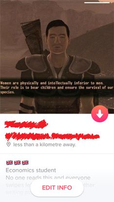 My Friends Tinder Profile For Today.